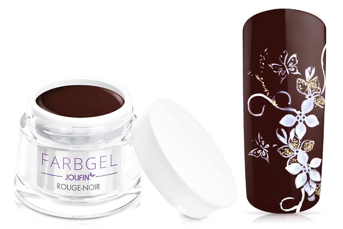 Jolifin Farbgel rouge noir 5ml