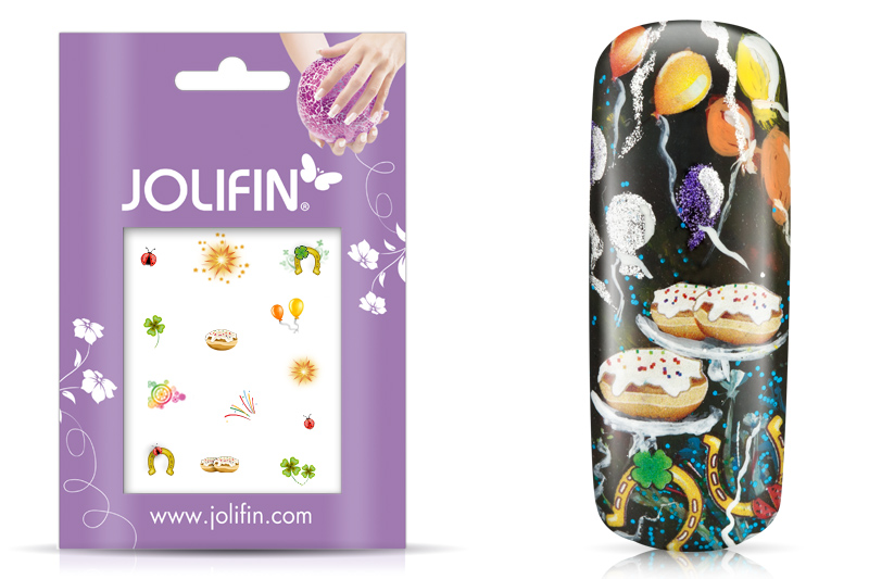 Jolifin Nailart Silvester Tattoo 1