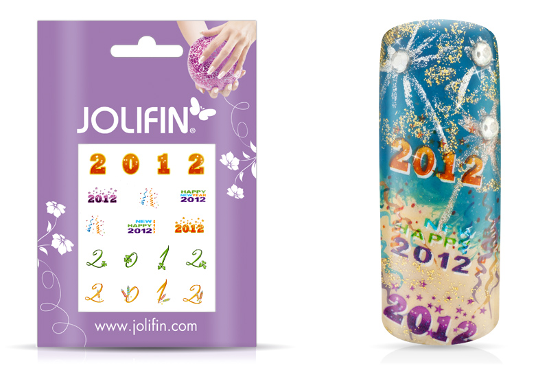Jolifin Nailart Silvester Tattoo 5