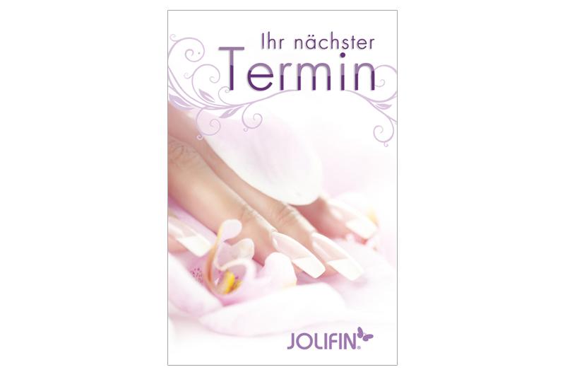 Jolifin Terminkarten - French 50 Stk.