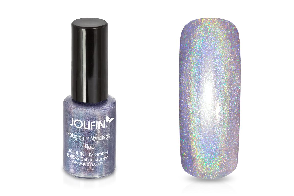 Jolifin Hologramm Nagellack lilac 5ml