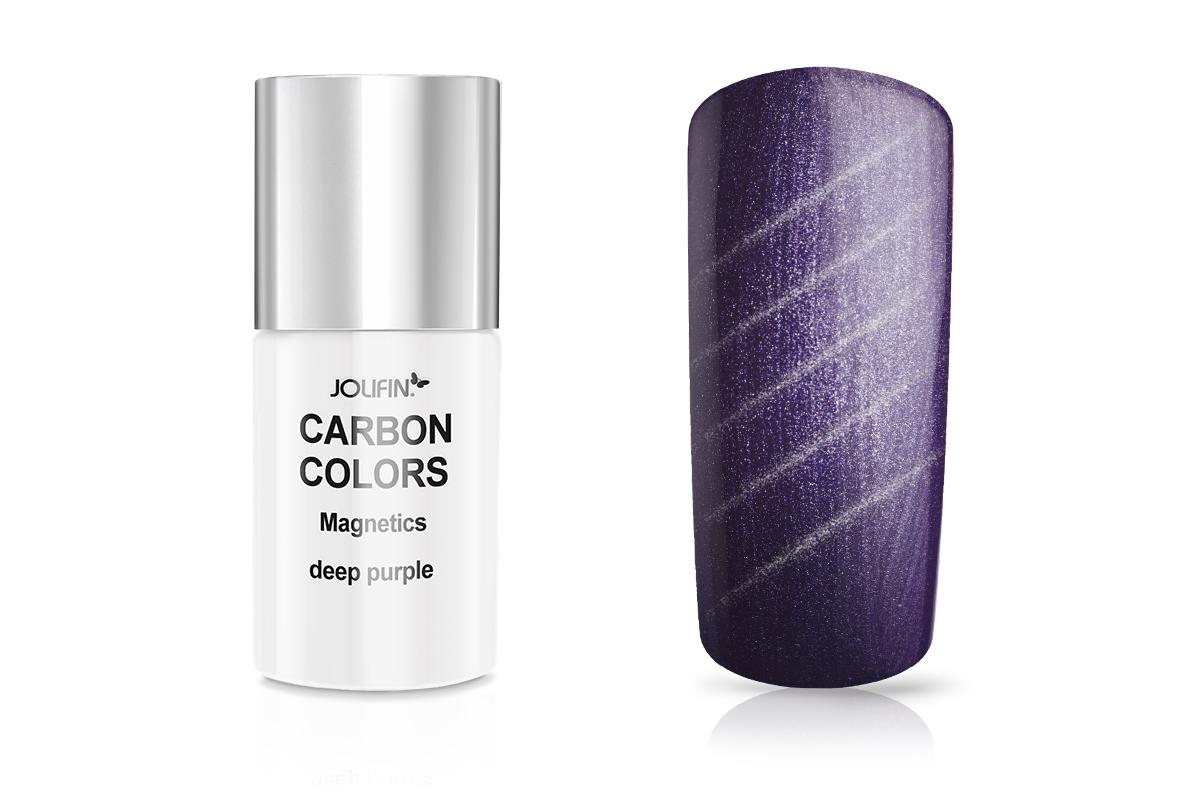 Jolifin Carbon Quick-Farbgel Magnetics deep purple 11ml