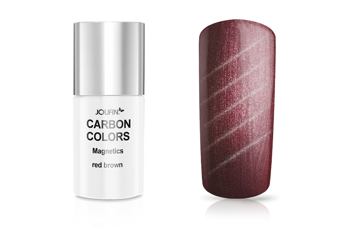 Jolifin Carbon Colors Magnetics red brown 14ml