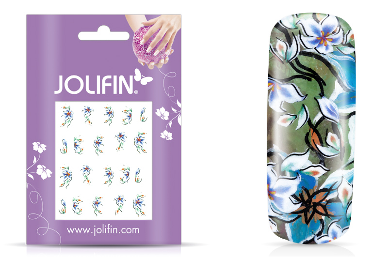 Jolifin Flora Nailart Tattoo 3