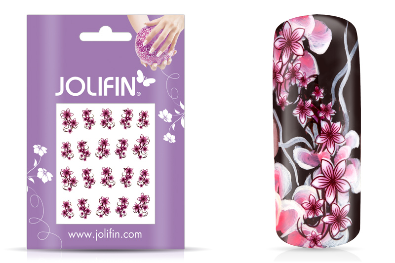 Jolifin Flora Nailart Tattoo 6