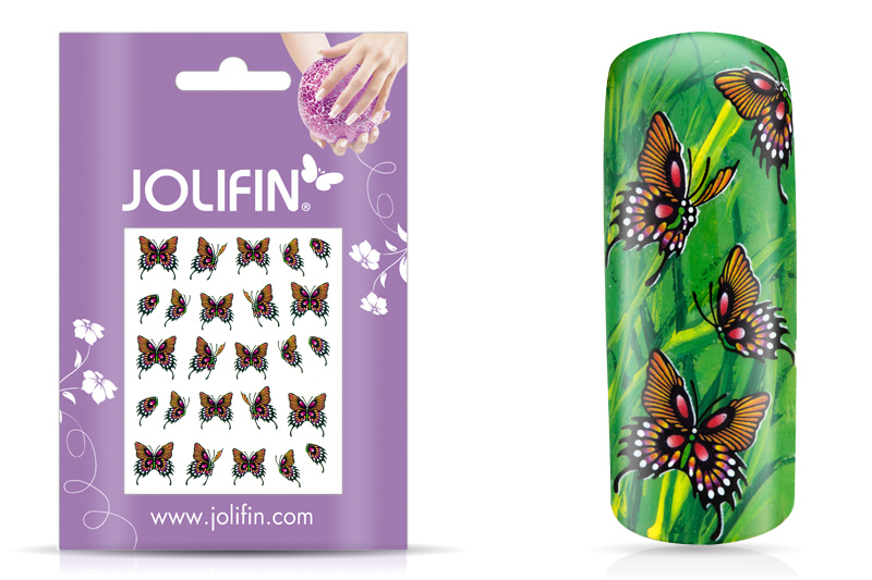 Jolifin Flora Nailart Tattoo 10