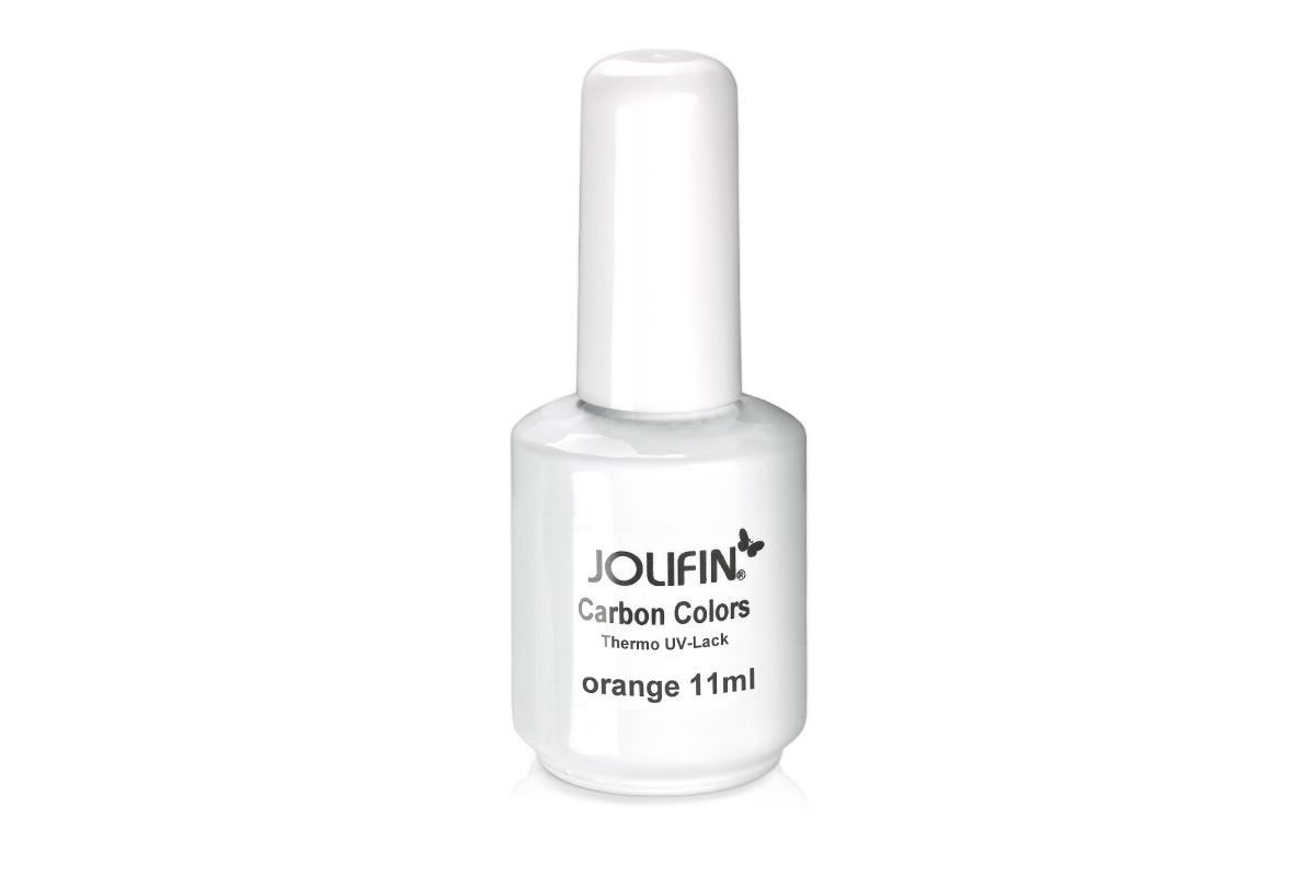 jolifin carbon colors thermo uv lack orange 11ml pretty nail shop 24. Black Bedroom Furniture Sets. Home Design Ideas