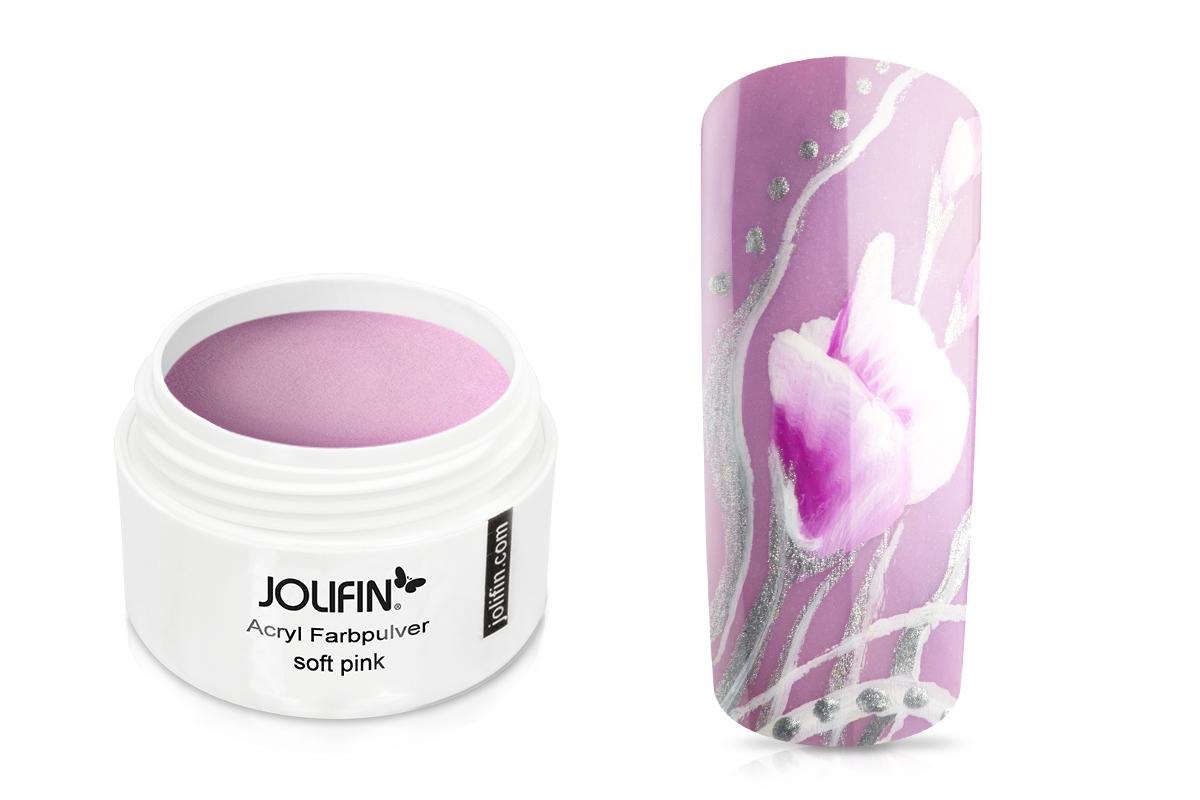 Jolifin Acryl Farbpulver soft pink 5g