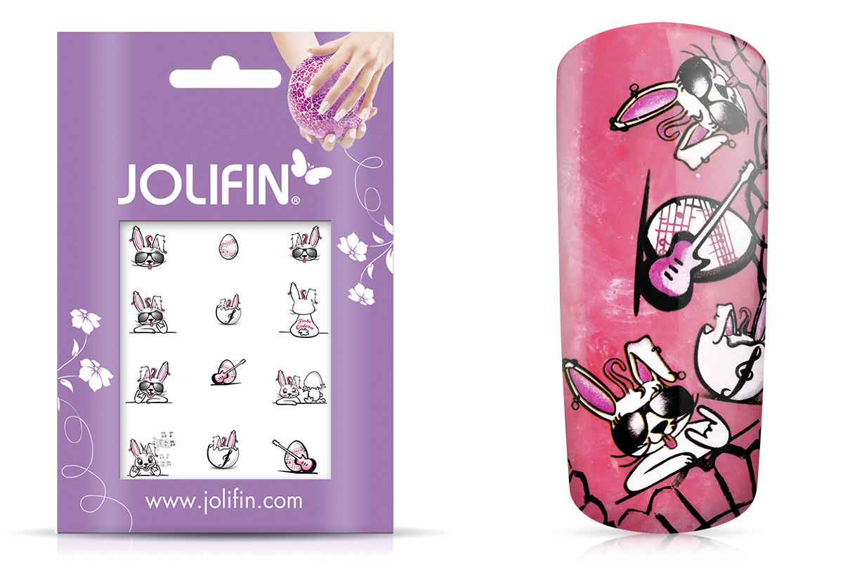 Jolifin Nailart Ostertattoos Nr. 6