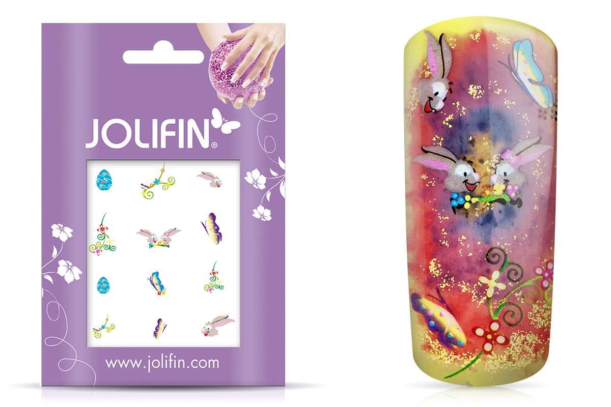 Jolifin Nailart Ostertattoos Nr. 8
