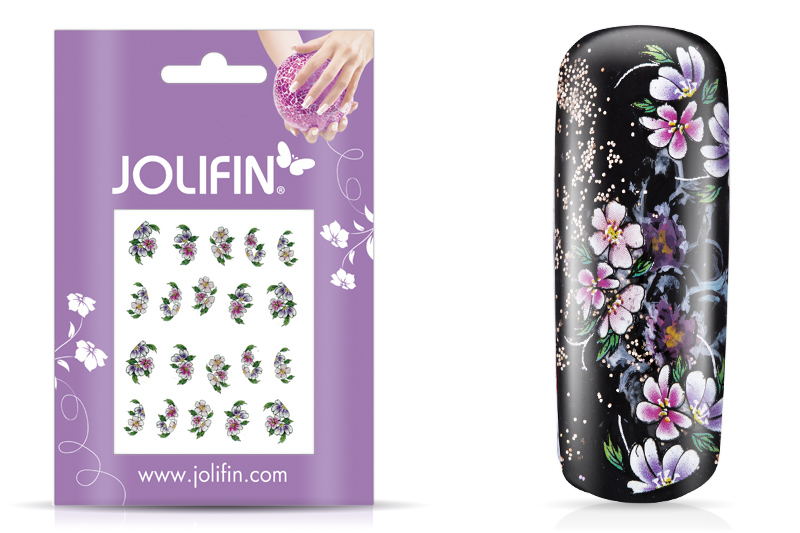 Jolifin intensive Nailart Sticker Folie 1