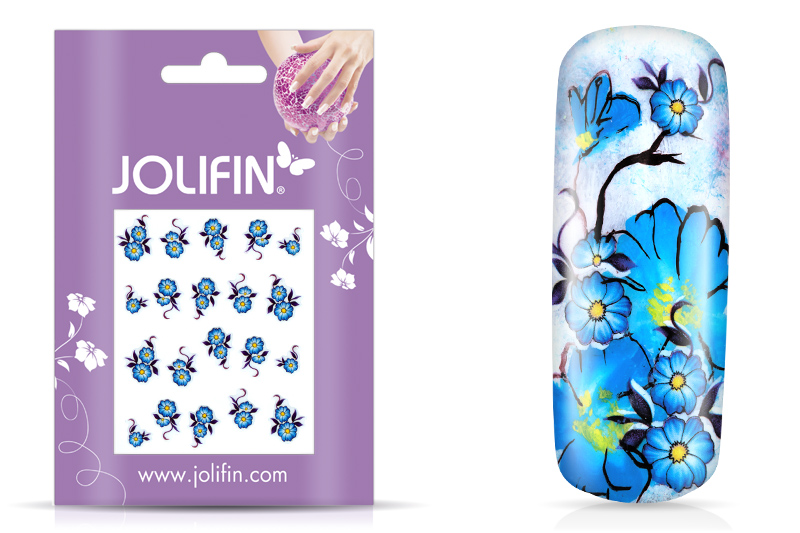 Jolifin intensive Nailart Sticker Folie 10