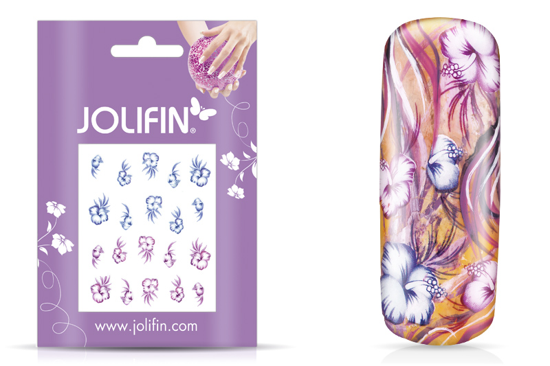 Jolifin soft Nailart Sticker Folie 9