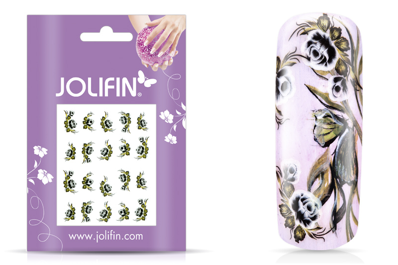 Jolifin soft Nailart Sticker Folie 10