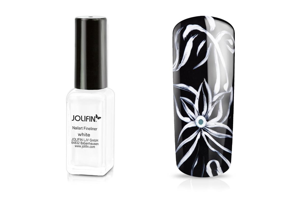 Jolifin Nailart Fineliner white 10ml
