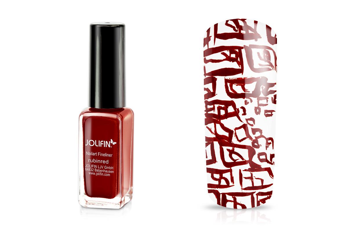 Jolifin Nailart Fineliner rubinred 10ml