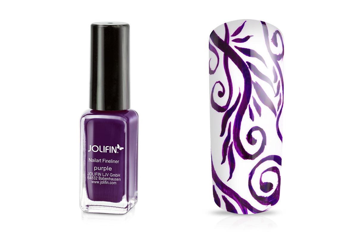 Jolifin Nailart Fineliner purple 10ml