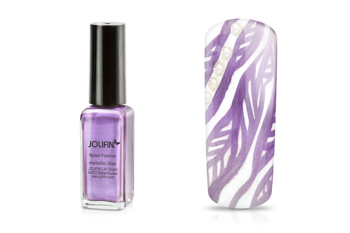 Jolifin Nailart Fineliner metallic lilac 10ml