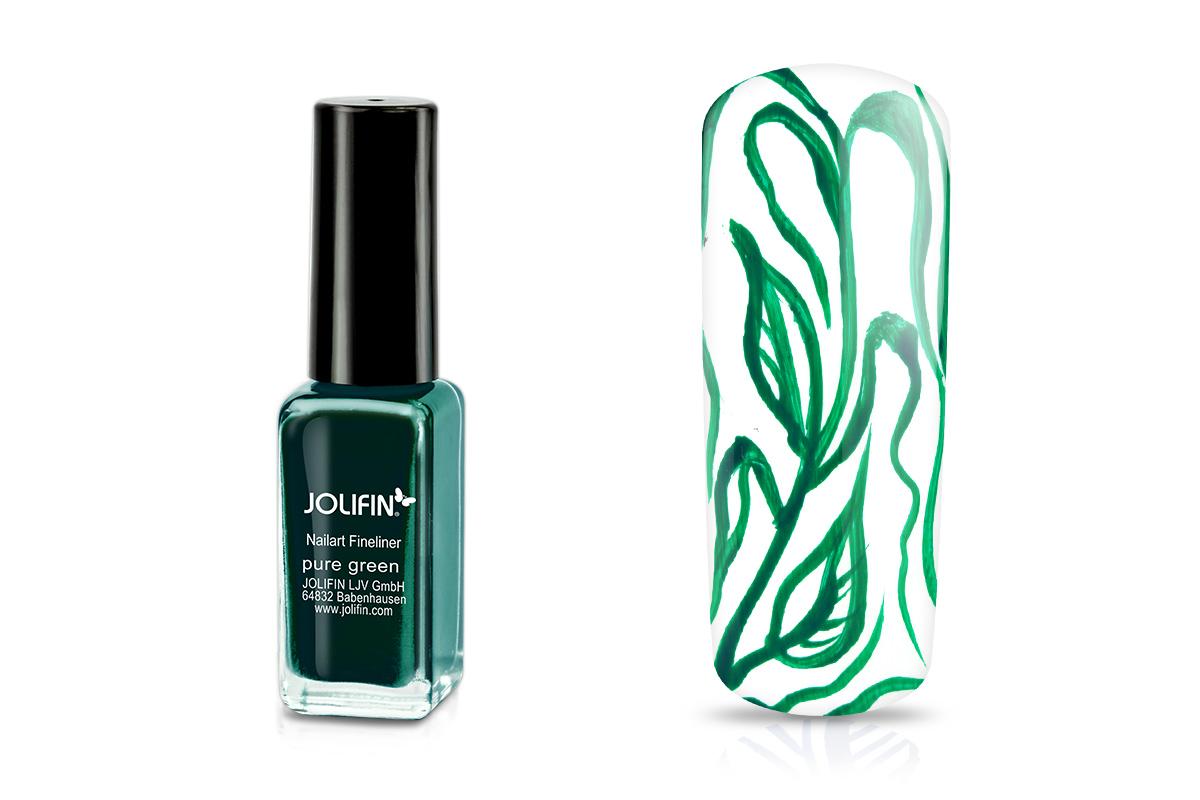 Jolifin Nailart Fineliner pure green 10ml
