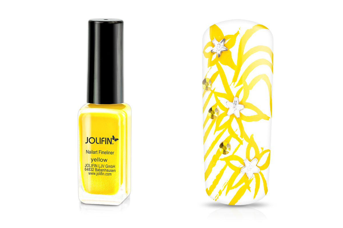 Jolifin Nailart Fineliner yellow 10ml