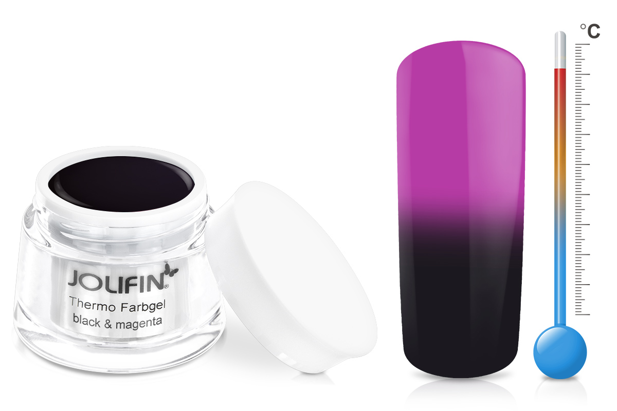 Jolifin Thermo Farbgel black&magenta 5ml