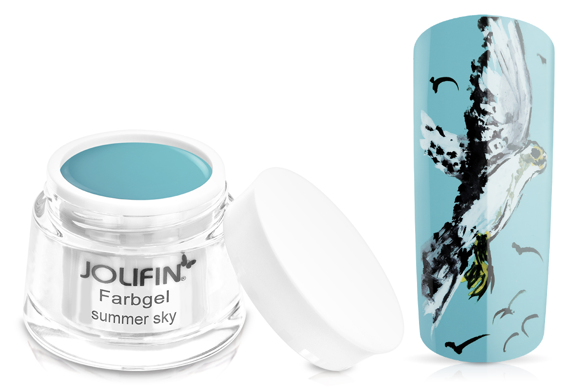 Jolifin Farbgel 4plus summer sky 5ml