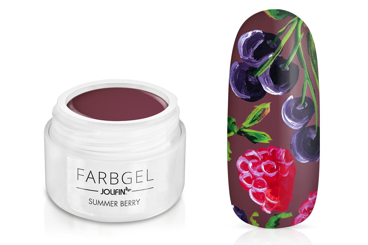 Jolifin Farbgel summer berry 5ml