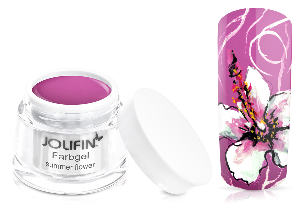 Jolifin Farbgel summer flower 5ml