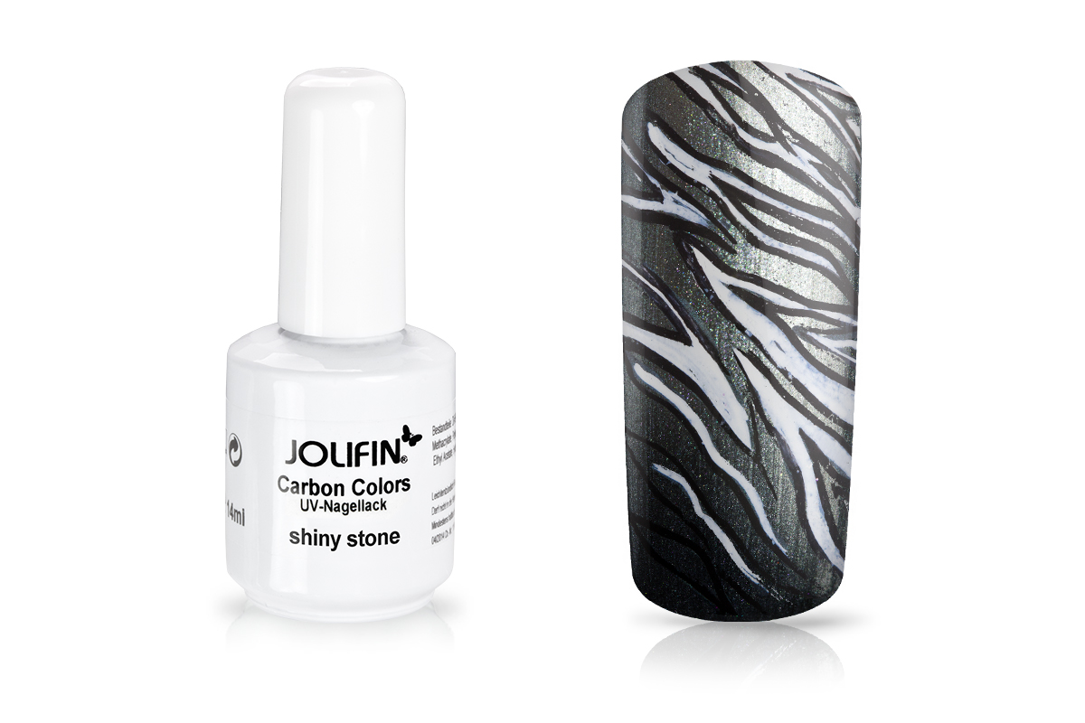 Jolifin Carbon Quick-Farbgel - shiny stone 11ml