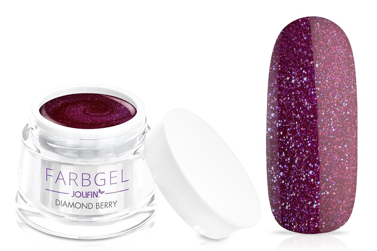 Jolifin Farbgel diamond berry 5ml