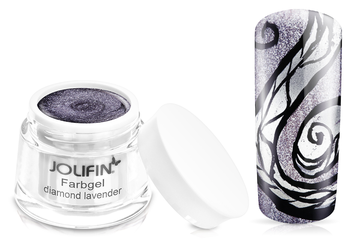Jolifin Farbgel diamond lavender 5ml