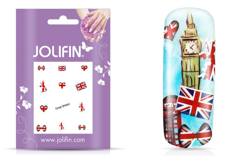 Jolifin Fussball Tattoo - Great Britain