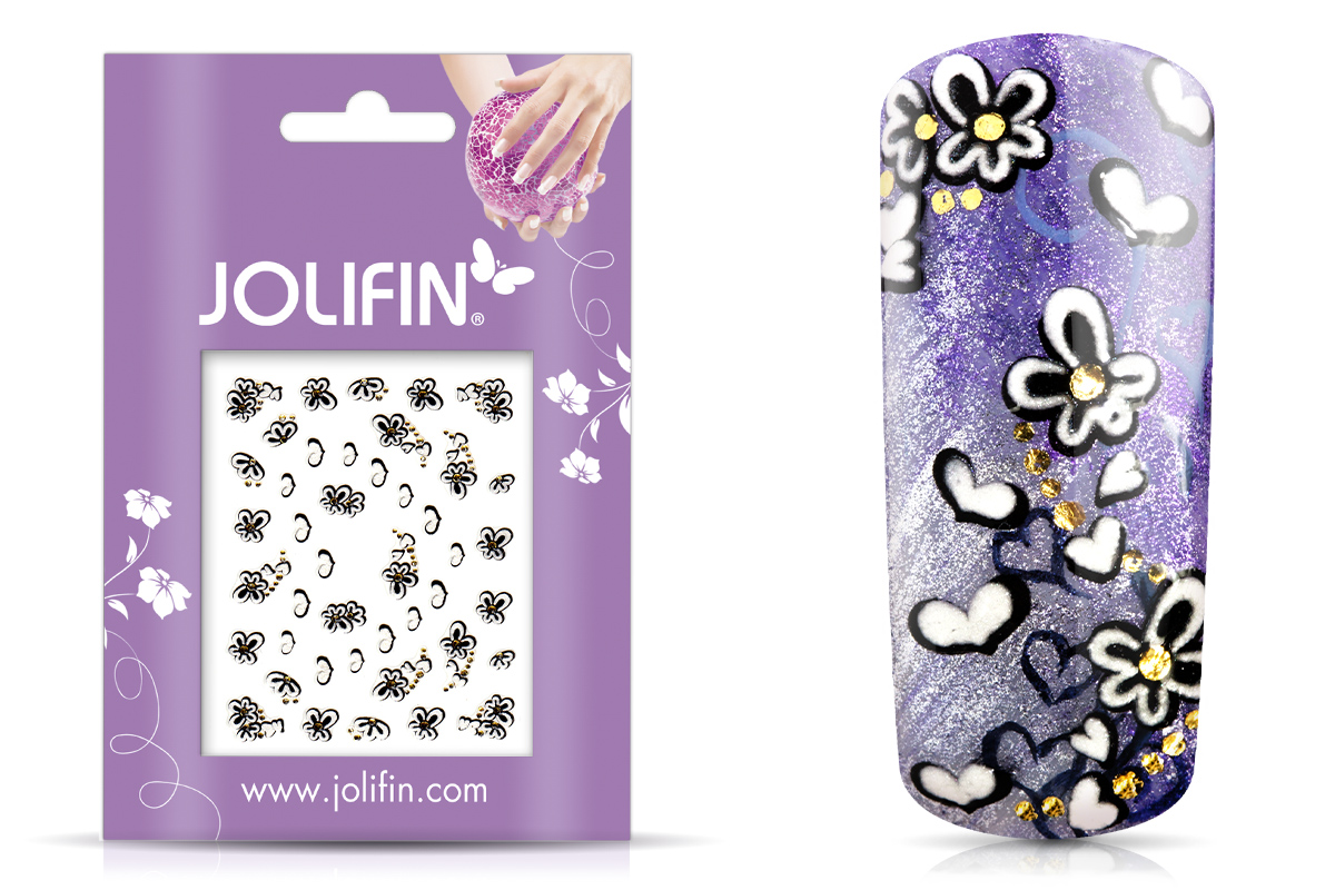 Jolifin Noble Nailart Sticker Nr. 19