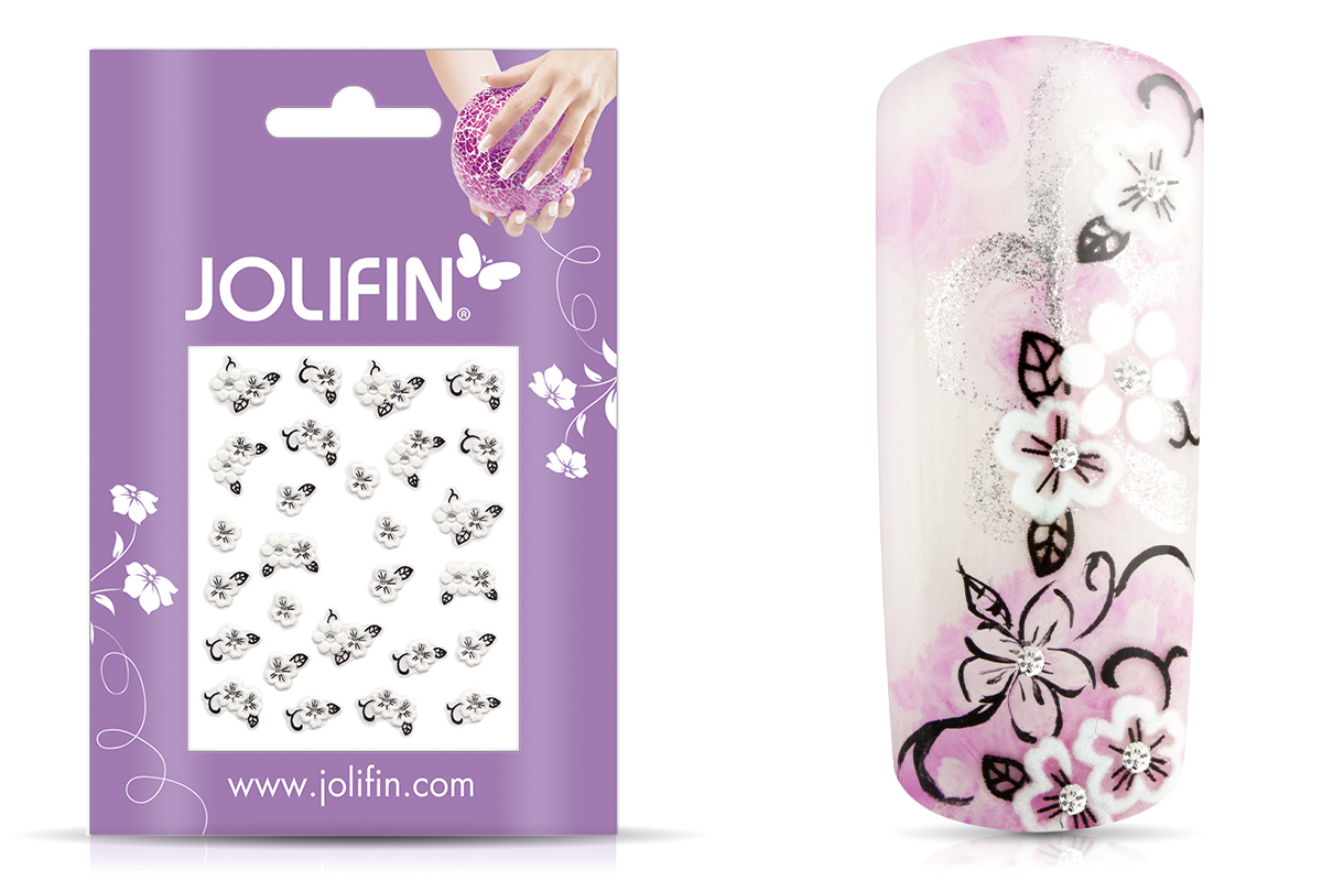Jolifin Nailart Wedding Sticker Nr. 18