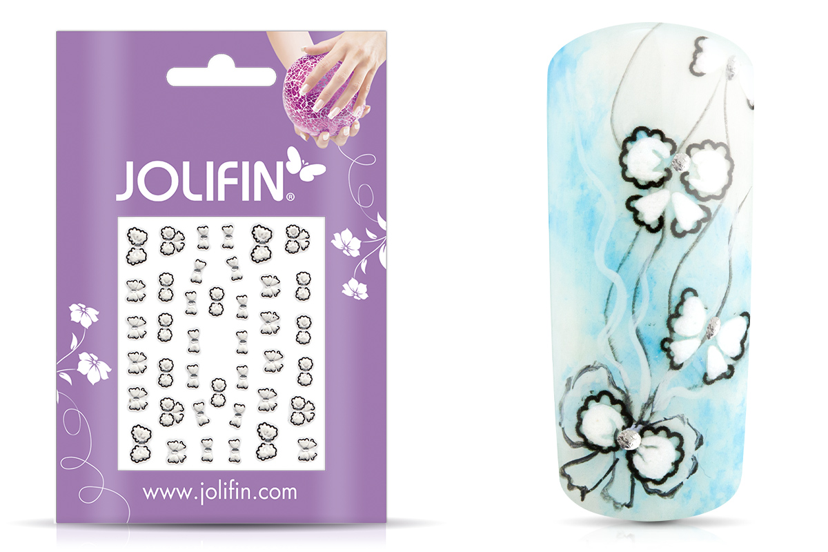 Jolifin Nailart Wedding Sticker Nr. 28