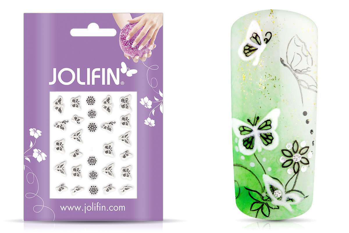 Jolifin Nailart Wedding Sticker Nr. 34