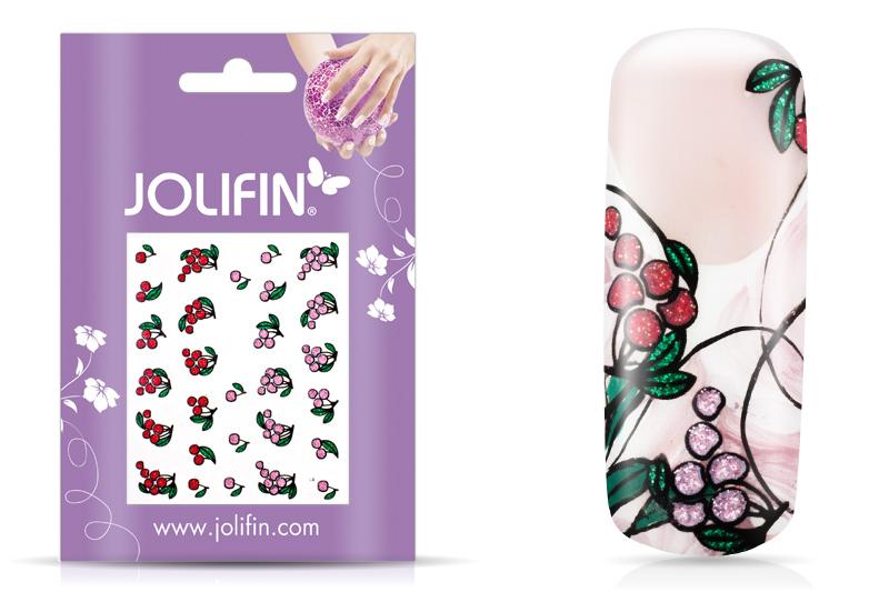 Jolifin Glitter Nailart Sticker 4