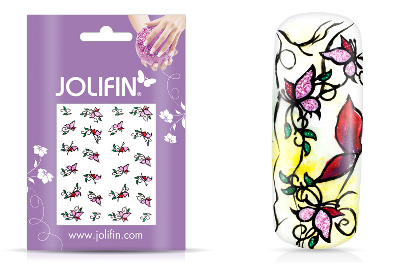 Jolifin Glitter Nailart Sticker 6