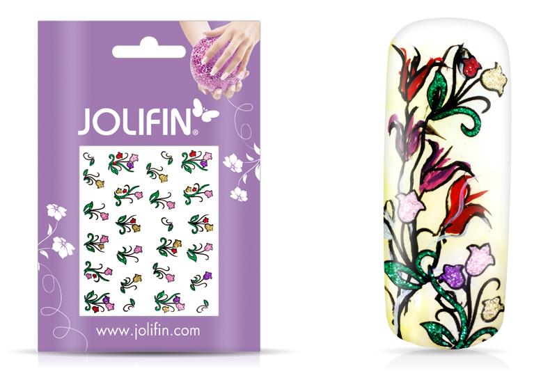 Jolifin Glitter Nailart Sticker 7