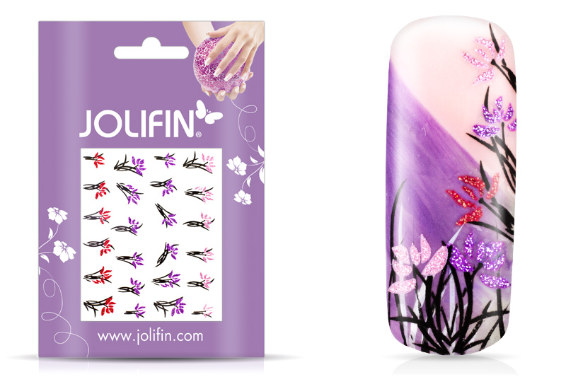Jolifin Glitter Nailart Sticker 14