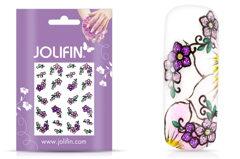 Jolifin Glitter Nailart Sticker 19