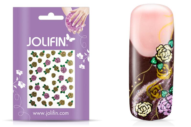 Jolifin Glitter Nailart Sticker 21