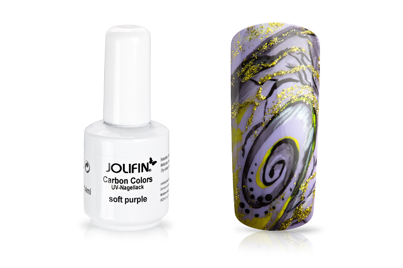 Jolifin Carbon Quick-Farbgel - soft purple 11ml