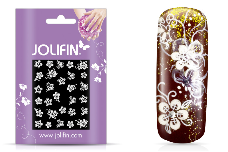 Jolifin Sparkling Crystal Nail-Sticker 12
