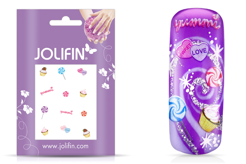 Jolifin sweet & tasty Nailart Tattoo 12