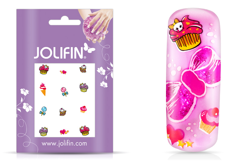 Jolifin sweet & tasty Nailart Tattoo 11