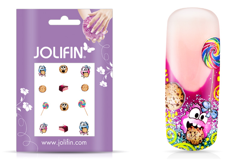 Jolifin sweet & tasty Nailart Tattoo 9