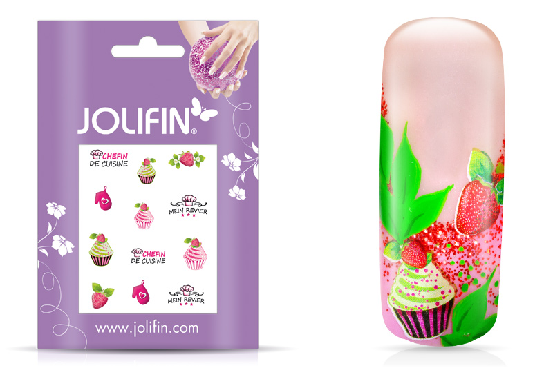 Jolifin sweet & tasty Nailart Tattoo 6