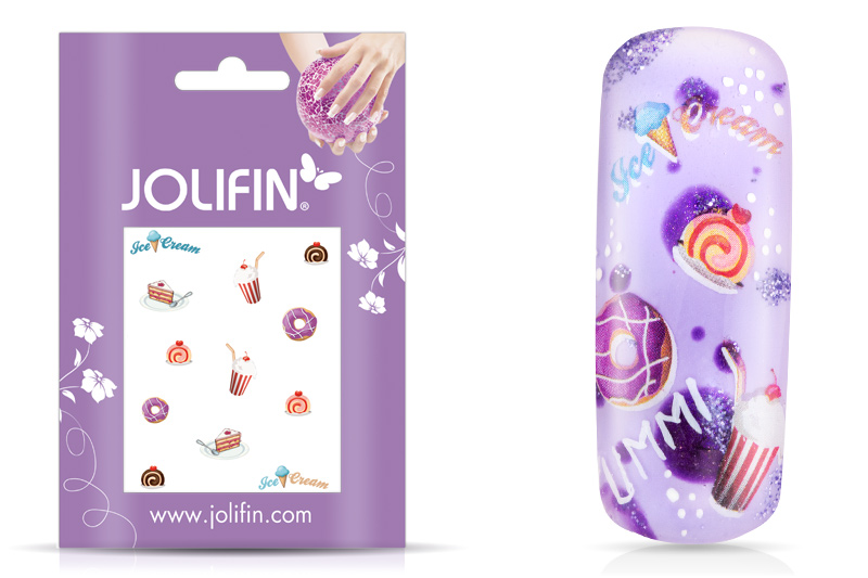 Jolifin sweet & tasty Nailart Tattoo 3