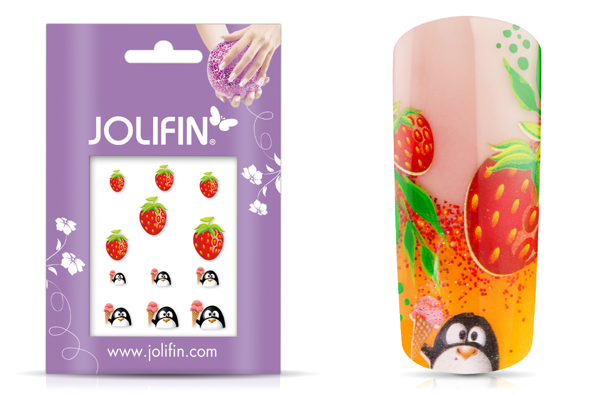 Jolifin sweet & tasty Nailart Tattoo 1